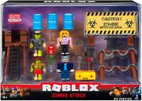 Roblox Action Collection - Zombie Attack Playset Figure Pack NEW