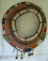 POKOT KENYA Ornate Beaded Tribal MARRIAGE COLLAR NECKLACE