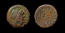 Megaris, Megara – Ancient Greek Coin Bronze Ae Kithara and Apollo Lyre