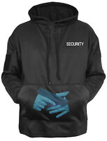 Tactical CCW Hoodie Hooded Sweatshirt Security Black Concealed Carry Rothco 2060