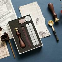 Ribbon and Wax Sealing Kit for Cards and Letters