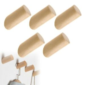 5X Nature Hook Hat Rack Wall Mounted Vintage Wall Decor Single Organizer Hangers