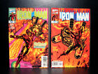 COMICS: Marvel: Iron Man #4-5 (vol 3, 1998), 1st Firebrand app - RARE