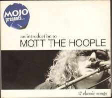 MOTT the HOOPLE Mojo Presents An Introduction to CD DIGIPACK All The Young Dudes
