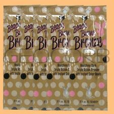 5 Playboy Beach Bunny Bronze Extreme Bronzer Beads Packet Packet Lotion Sample