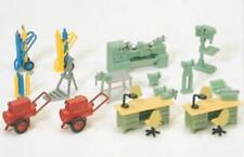 PREISER HO scale ~ 'workshop equipment' ~ 1/87 plastic model kitset # 17185