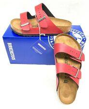 Birkenstock Unisex Arizona Sandal,Pull up Bordeaux,35 EU/(Women 4-4.5) M US