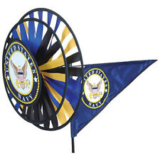 US Navy Staked Wind Spinner with Pole & Ground Mount..16... PR 22104