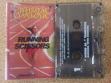 WEIRD AL YANKOVIC - RUNNING WITH SCISSORS CASSETTE TAPE