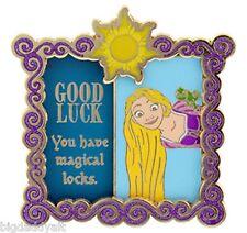 New Disney Trading Pin Good Luck Bad Luck Rapunzel Tangled LE 1000 December