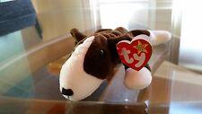 'Bruno' the Bull Terrier - Ty Beanie Baby - MINT - RETIRED