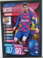 2019/20 Match Attax Soccer Card - Lionel Messi Barcelona