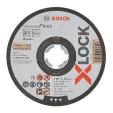 Bosch X-LOCK Trennscheibe 125x1x22,23mm Standard for Inox für Winkelschleifer