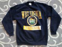 Vintage 90s University of West Virginia Mountaineers NCAA Sweatshirt Size Large