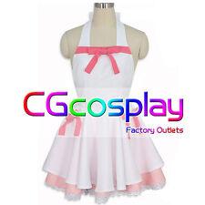 Free Shipping Cosplay Costume Bakemonogatari Hanekawa Tsubasa Shinobu Oshino
