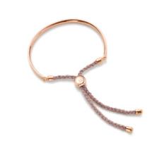 Monica Vinader Friendship Fiji Bracelet 18 ct Rose Gold Vermeil