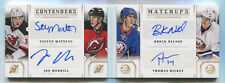 2013-14 CONTENDERS MATCHUPS MATTEAU MERRILL NELSON HICKEY AUTOGRAPH /199 BOOKLET
