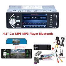 "4.1"" Hd Car Video Mp5 Mp3 Player Radio Bluetooth Fm/Aux/Usb/Sd +Rear View Camera(Fits: Case)"