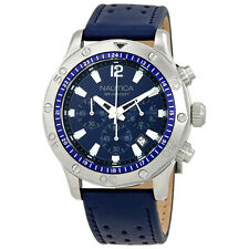 Nautica NST 21 Navy Blue Dial Mens Chronograph Watch NAD16547G