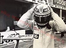 WILLIAMS,  ALAN JONES 1980 F1 GP ORIGINAL PERIOD PHOTOGRAPH - Charles Knight