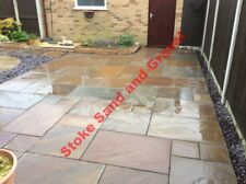 Autumn Brown 19.52m2 Indian Stone Paving Natural Sandstone Mixed sized