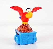 MCDONALDS Happy Meal Toy 1996 Aladino principe dei ladri Iago il pappagallo su carrello