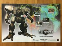 Front Mission 3 PS1 PSX Playstation 1 2000 Vintage Poster Ad Art Print Official