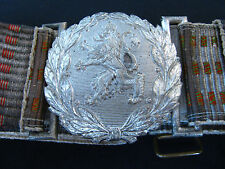 WW1 WW2 BULGARIAN ROYAL MILITARY OFFICER PARADE BELT