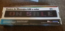 BetaBrite Programmable Color Electronic LED Sign/Display - 26 modes Complete GC
