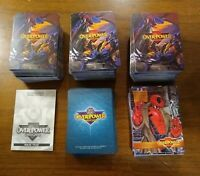 Marvel Overpower Card Game playing cards