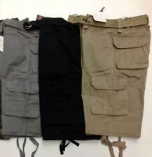 Cargo Shorts For Men BIG SIZES !!!! **Belt included**
