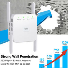 5G WiFi Repeater Amplifier Long Range Wireless Routers Signal Booster Extender