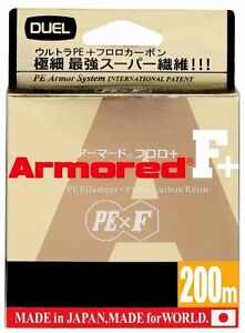 DUEL ARMORED F+ 200M [GY,S] Fishing line From Japan