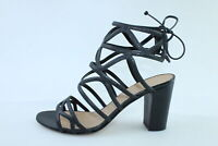 scarpe donna MARC ELLIS 37 sandali nero pelle DS856