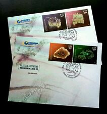 Argentina Minerals 2012 Stone (FDC pair)