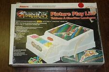 THUNDERCATS PICTURE PLAY LITE BY JANEX LOOSE BOX VINTAGE ORIGINAL 1985 RARE