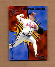 1999 Pacific Prism Epic Performers #6 Greg Maddux