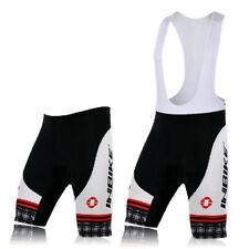 Men's Cycling Shorts Knicks MTB Bike Bicycle Gel Padded Bib Shorts Pant S-5XL