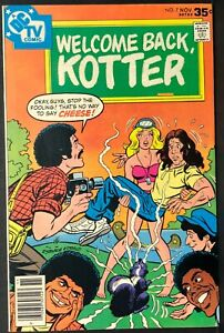 WELCOME BACK KOTTER DC TV comic book #7 1977 FN John Travolta Gabe Kaplan