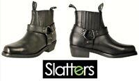 Slatters Footwear Australia Mens leather Motorcycle boots Slatters shoes Rebel