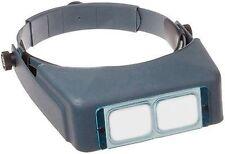 Donegan DA-7 OptiVISOR Headband Magnifier, 2.75X Magnification Glass Lens