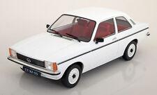 Triple 9 1977 Opel Kadett C Saloon White Color in 1/18 Scale. New Release!