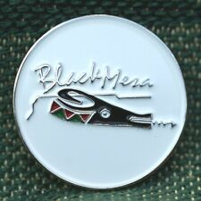 "RARE_Limited Edition_ Black Mesa Golf Club  1"" Ni-Silver Plated Ball Marker"