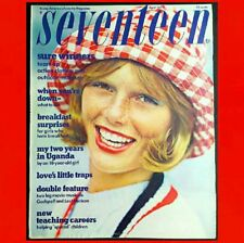 SEVENTEEN MAGAZINE April 1973 VG++ ● FASHIONS Renee Russo SWIMSUITS Women BEAUTY