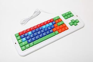 Clevy Colored Keyboard