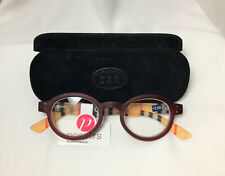 Peepers Reading glasses 2.50 Style Sixteen Red Stripe with a case