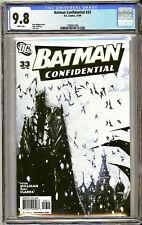 BATMAN CONFIDENTIAL #33 (2009) CGC GRADED 9.8 NM/M White Pgs. JOCK Cover Art