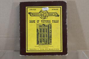 MAGNUSON MODELS 439-522 N GAUGE BANK of VICTORIA FALLS MODEL RAILWAY KIT nz