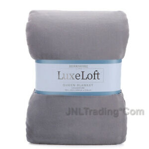 NEW BERKSHIRE Life LuxeLoft Supersoft Velvety Warm Blanket/Throw Queen/King