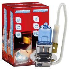 4x h3 Xenon Look xenohype ULTRA lampada alogena 12v 55 Watt pk22s